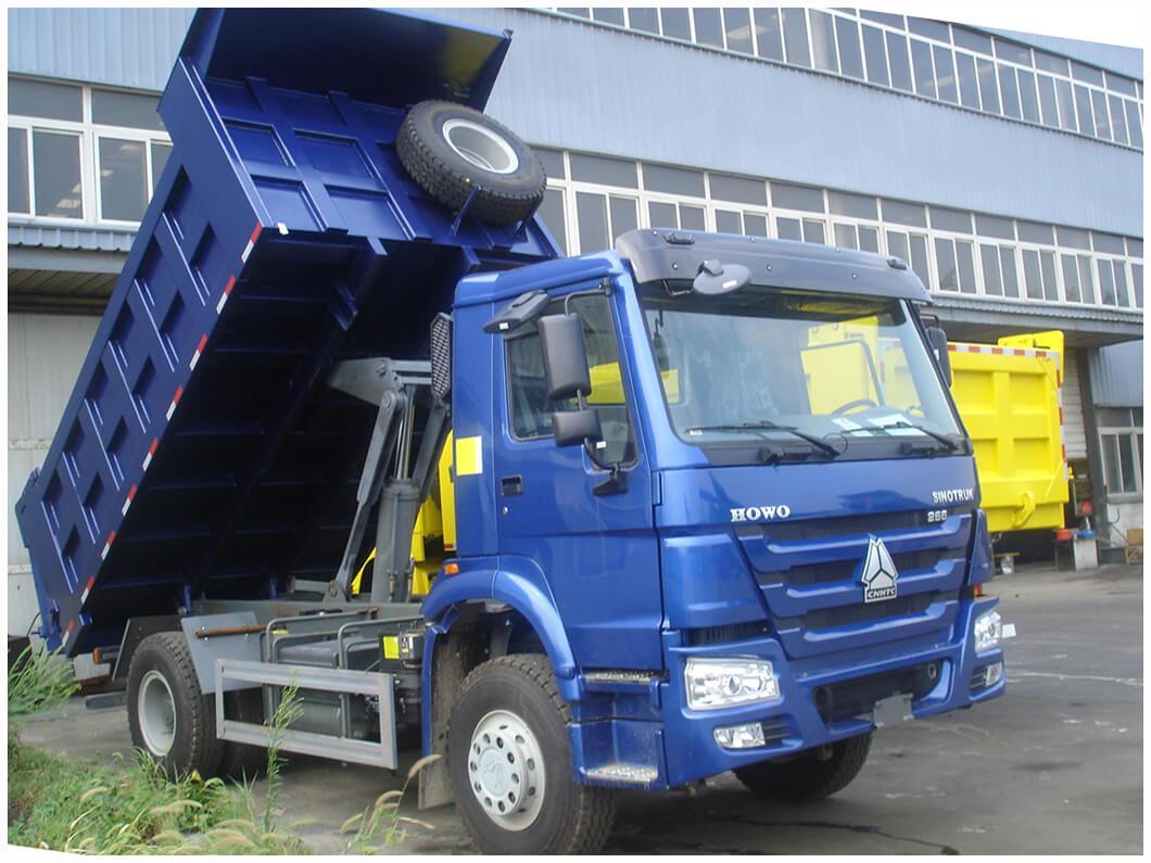 Howo 4x2 Dump Truck Nigerian Sinotrucks Limited
