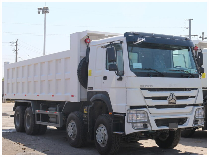 Howo 8x4 Dump Truck Nigerian Sinotrucks Limited
